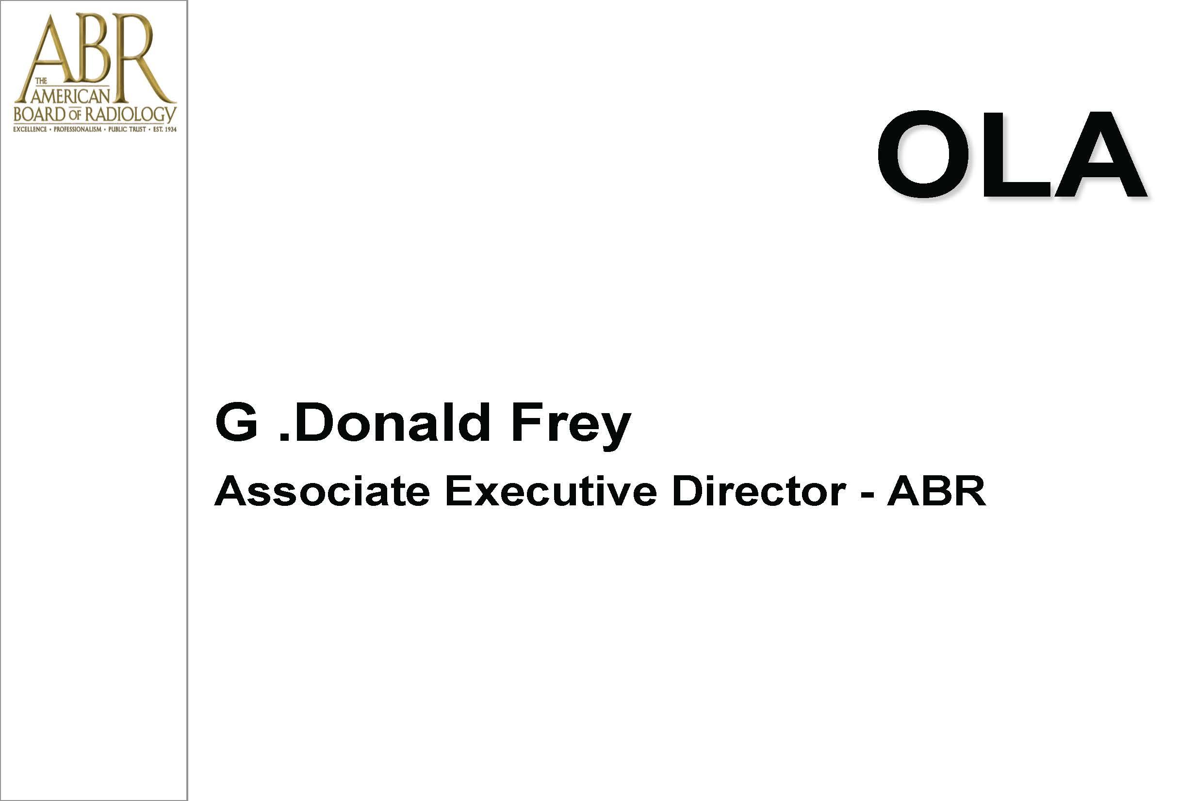 Aapm Vl The American Board Of Radiology Maintenance Of Certification