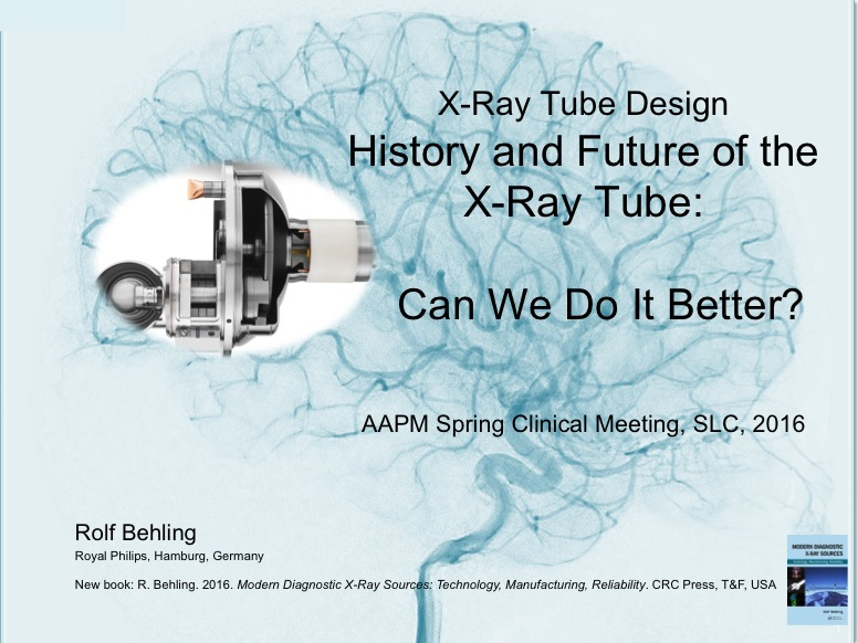 Aapm Vl X Ray Tube Design