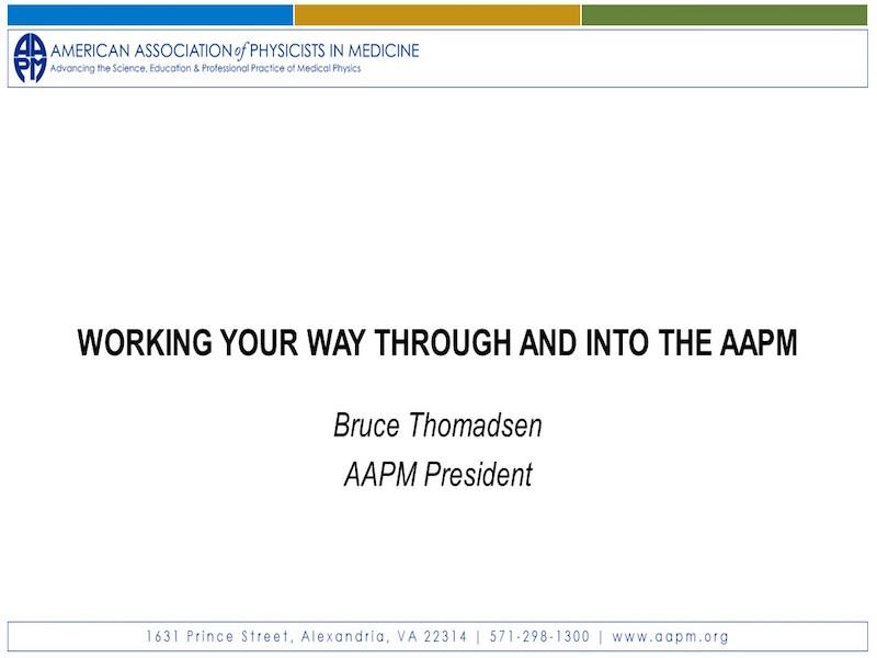 AAPM Membership