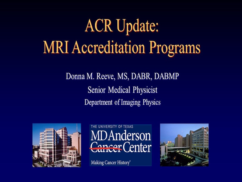 Virtual Library - AAPM: The American Association of