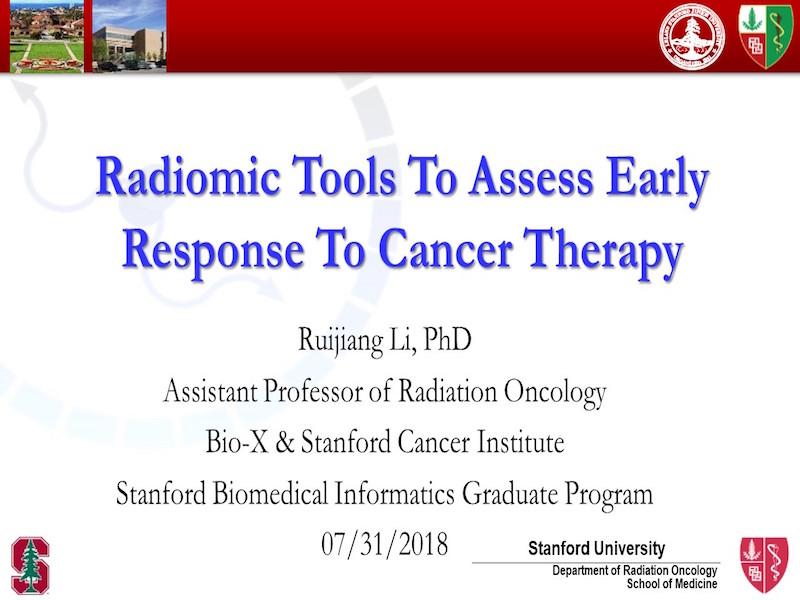 AAPM VL-Longitudinal Imaging in Radiation Therapy